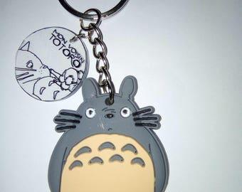 Keychain Totoro plastic and Silicone