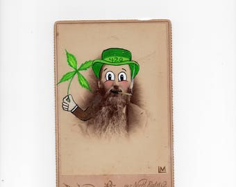 Leprechaun - Cannabis Inspired Cabinet Card