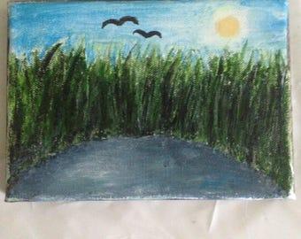 Handmade canvas