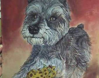 Custom ***1st purchase 50% off**** pet portrait personalized dog cat portrait pastel drawing