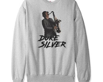 Duke Silver Sweatshirt - Parks and Recreation -