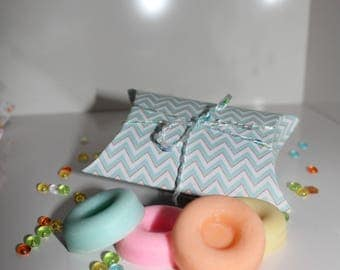 Fruity scented 4 fondant box