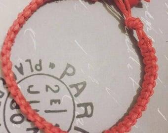 Simple and Clean Hemp Bracelet