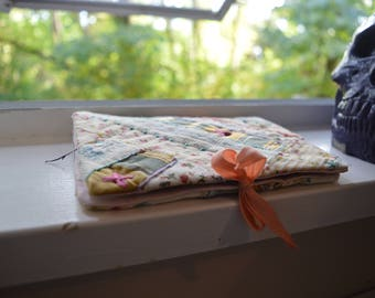 Embroidered Patchwork Needle Case