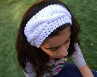Hand Knit Hearband, Knit cable headband, Hair Accessories, Winter headband, Turban