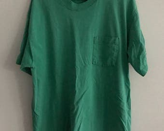 Vintage Russell Athletic Pocket T-Shirt