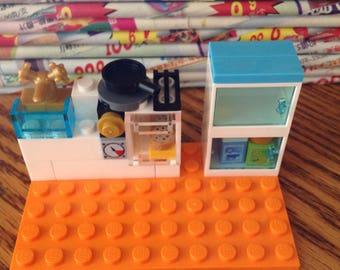 Custom Lego kitchen set