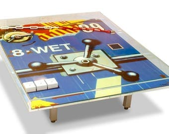 WET coffee Table by Peter Klasen. Limited Edition - signed and numbered