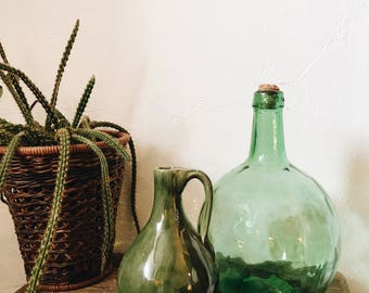 Old pitcher / jug Green