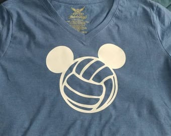 Disney Volleyball Shirt