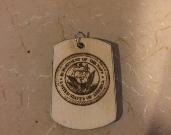 Custom Wooden Dog Tags
