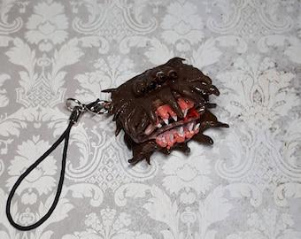 Monster book Lumos charm pendant - Harry Potter