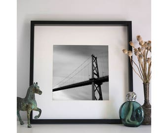 Lion's Gate Bridge, Photographic Print, 5x5