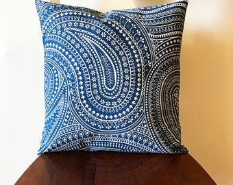 Throw Pillow Cover, Decorative Pillow Cover, 18x18, Handmade Pillow Covers, Made to Order