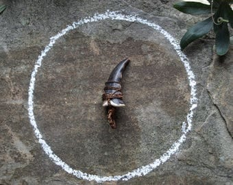 Crab Claw Pendent - Occult, Shamanic Jewellery. Witchcraft, Pagan, Wicca.