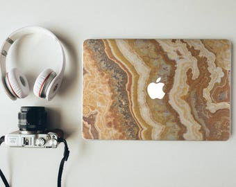 Yellow Marble Macbook Pro Case Marble Laptop Case Macbook Hard Case Macbook Air Marble Macbook Air 13 Macbook Pro Retina Marble Macbook