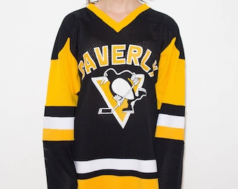Pittsburgh Penguins, Ice Hockey Jersey, Sports Jersey, Ice Hockey, Championship, Merch, Hockey, Long-Sleeved, Champions, 90s, Athletic