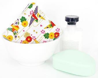 Face Scrubbies - Eco Friendly Facial Rounds - Reusable Face Pads - Washable Makeup Pads - Makeup Remover Cloth - Exfoliating Face Cloth