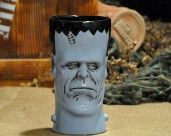 Tiki Tiki Monster's Monsterstein Tiki Mug Zombie Blue