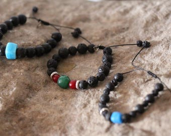 The Power of Lava Stones Bracelets