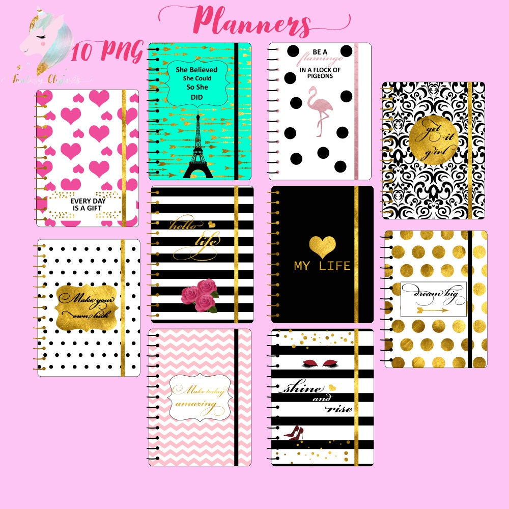 planners clipart planning clip art glam planner clipart