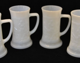 Vintage Federal Milk Glass Mug