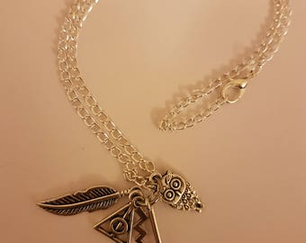 Harry Potter inspired necklace (2)