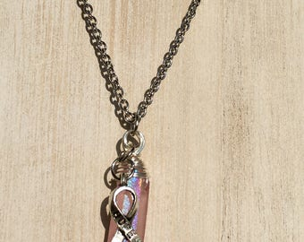 "Pink ""Hope"" Necklace"