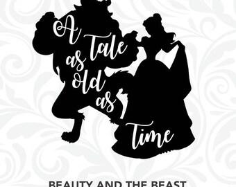 Beauty Beast Quotes Etsy