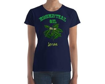 Essential Oil Lemon Women's short sleeve t-shirt