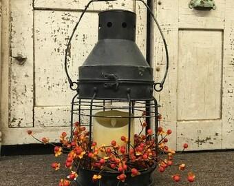 Lantern, Luminara Candle and Bittersweet