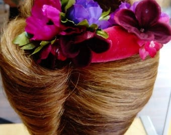 Hair Flower Comb