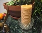 6 inch Bees Wax Pillar Ca...