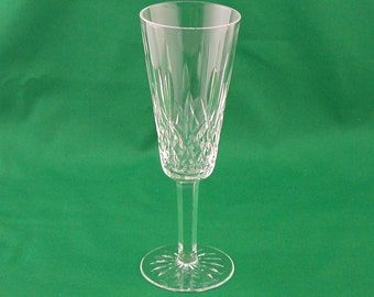 Waterford Crystal Lismore Fluted Champagne Glass Flute