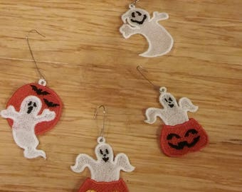 Ghost Halloween Ornaments