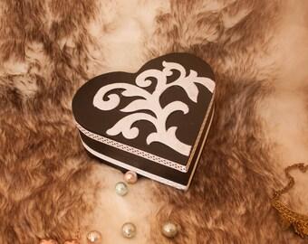 Sherazade heart box