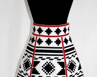 Boho Clothing Embroider Skirt Hight Waist Bohemian Clothes Ukraine Embroider Mexican Embroidery Vyshyvanka Fashion Ethnic Vishivanka Chic