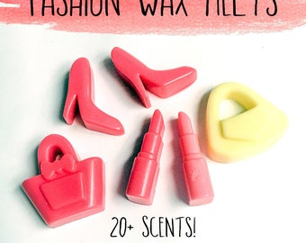 Fashion Wax Melts - Wax Melts - Candles - Wax Tarts - Soy Wax Melts - Soy Tarts - Choose Your Scent - Home Fragrance - Lipstick Wax Melts