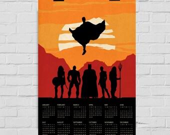 2018 batman calendar | Etsy