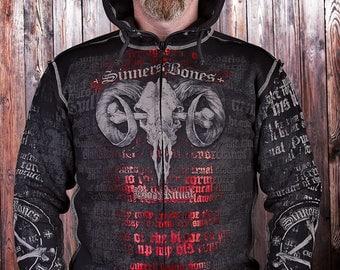 "Men's Sweatshirt ""Blood Ritual"""