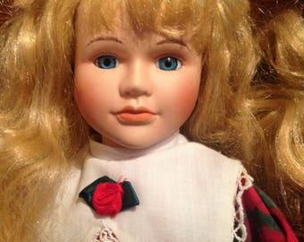 Porcelain, Collectible, Vintage, Seymour Mann Connoisseur Doll Collection, 1996