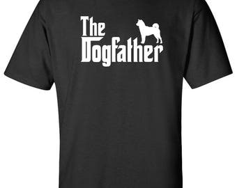 The Dogfather Shiba Inu Dog Logo Graphic TShirt