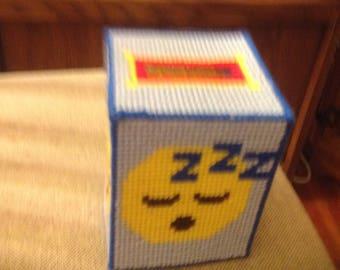 Emoji tissue covers