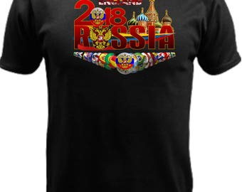 England World Cup Russia 2018 t-shirt