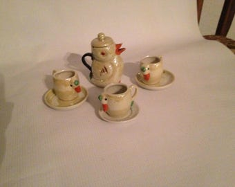 Vintage Mini Tea Set