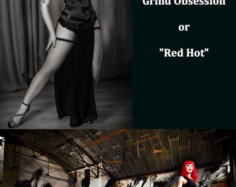 """Postcard """"Grind Obsession"""" & """"Red Hot"""""""