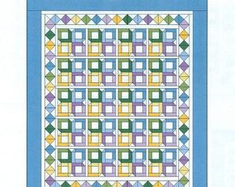 Little Boxes Queen-Size Quilt Pattern