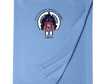 505th Parachute Infantry Regiment Embroidered Blanket-3268