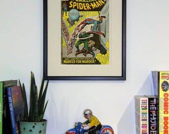 Framed comic - Amazing Spider-Man #108
