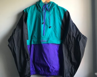 90s Columbia Anorak Rain Jacket  - Large
